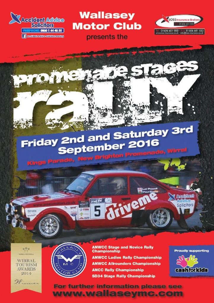 2016 Promenade Stages Rally